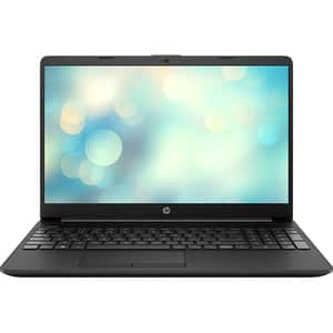 "Laptop HP 15-dw2001nq, Intel Core i5-1035G pana la 3.9GHz, 15.6"" Full HD, 8GB, SSD 256GB, NVIDIA GeForce MX130 2GB, Free DOS, negru"