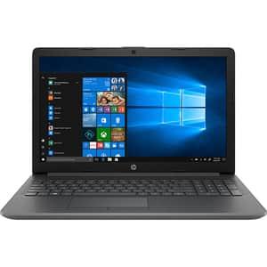 "Laptop HP 15-dw3043nq, Intel Core i3-1115G4 pana la 4.1GHz, 15.6"" Full HD, 8GB, SSD 256GB, Intel UHD Graphics, Windows 10 Home, gri inchis"
