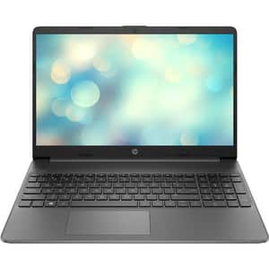 "Laptop HP 15s-eq1000nq, AMD Athlon Silver 3050U pana la 3.2GHz, 15.6"" HD, 4GB, SSD 256GB, AMD Radeon Graphics, Free DOS, gri inchis"