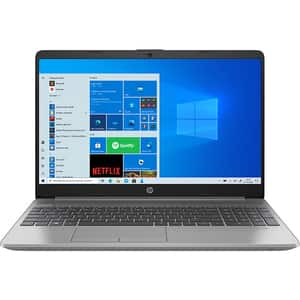 "Laptop HP 250 G8, Intel Core i5-1035G1 pana la 3.6GHz, 15.6"" Full HD, 8GB, SSD 256GB, Intel UHD Graphics, Windows 10 Home, argintiu"