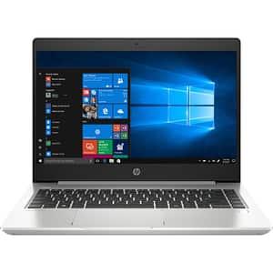"Laptop HP ProBook 445 G7, AMD Ryzen 5-4500U pana la 4.0GHz, 14"" Full HD, 8GB, SSD 256GB, AMD Radeon Graphics, Windows 10 Pro, argintiu"