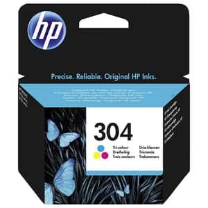 Cartus HP 304 (N9K05AE), tricolor