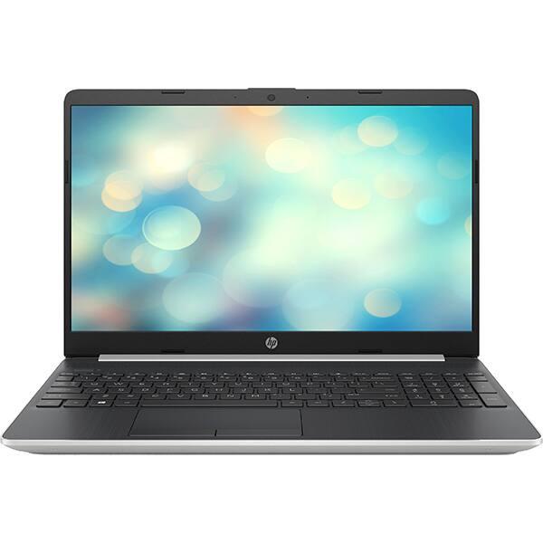 """Laptop HP 15s-fq1000nq, Intel Core i7-1065G7 pana la 3.9GHz, 15.6"""" Full HD, 16GB, SSD 512GB, Intel Iris Plus Graphics, Free Dos, argintiu"""