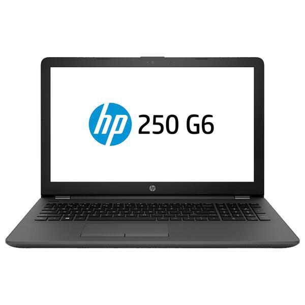"Laptop HP 250 G6, Intel Celeron N4000 pana la 2.6GHz, 15.6"" HD, 4GB, HDD 500GB, Intel UHD Graphics 600, Free Dos"