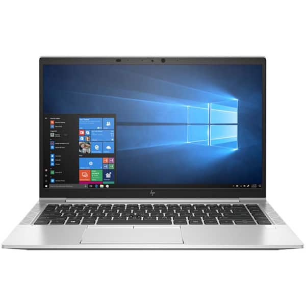 "Laptop HP EliteBook 845 G7, AMD Ryzen 5 4500U pana la 4.0GHz, 14"" Full HD, 16GB, SSD 512GB, AMD Radeon R5, Windows 10 Pro, argintiu"
