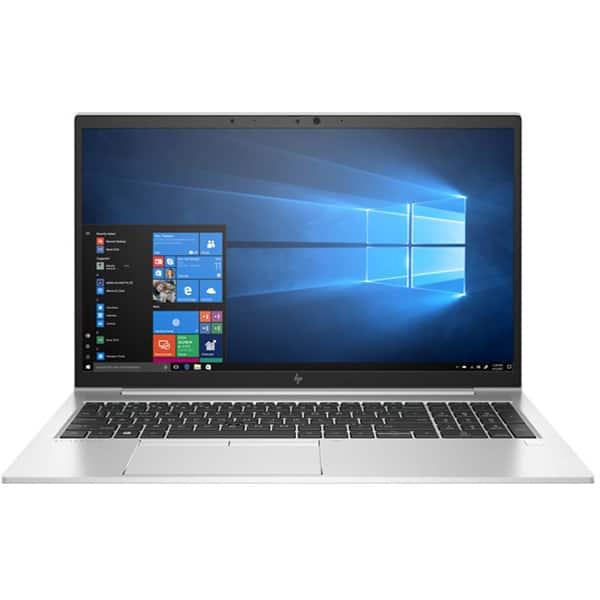 "Laptop HP EliteBook 855 G7, AMD Ryzen 5 Pro 4650U pana la 4GHz, 15.6"" Full HD, 16GB, SSD 512GB, AMD Radeon Graphics, Windows 10 Pro, argintiu"