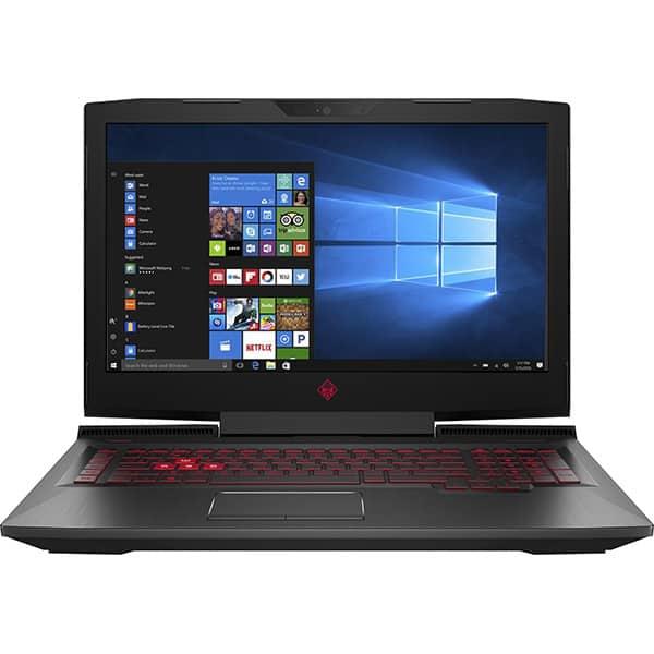 """Laptop Gaming Omen by HP 17-an107nq, Intel Core i7-8750H pana la 4.1GHz, 17.3"""" Full HD, 12GB, HDD 1TB + SSD 128GB, NVIDIA GeForce GTX 1070 8GB, Windows 10 Home"""