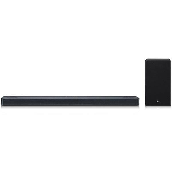 Soundbar LG SL8Y, 3.1.2 , 440W, Wi-Fi, Bluetooth, Subwoofer Wireless, Dolby, DTS, negru
