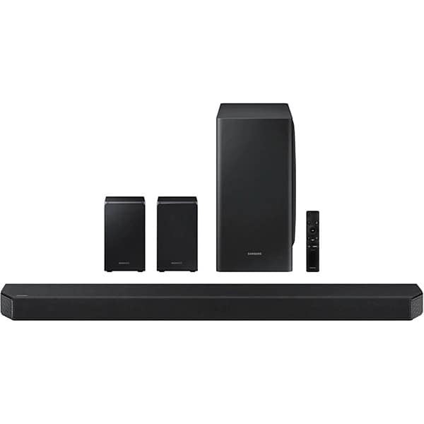 Soundbar SAMSUNG HW-Q950T, 9.1.2, 546W, Bluetooth, Subwoofer Wireless, Dolby, negru