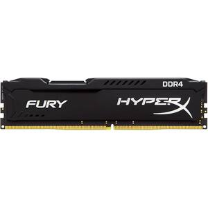Memorie desktop KINGSTON HyperX Fury Black, 8GB DDR4, 3200Mhz, CL18, HX432C18FB2/8
