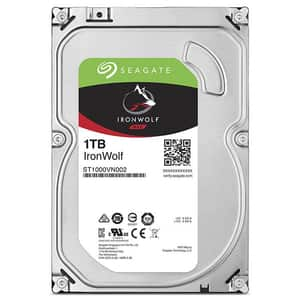 Hard Disk NAS SEAGTE IronWolf NAS 1TB, 5900RPM, SATA3, 64MB, ST1000VN002