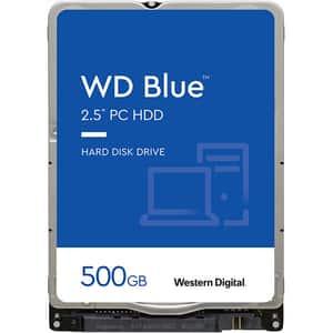 Hard Disk laptop WD Blue, 500GB, 5400 RPM, SATA3, 16MB, WD5000LPCX