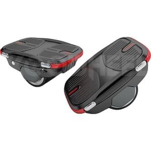 Hover Shoes Koowheel X1, viteza 12 km/h, control sinusoidal, negru-rosu