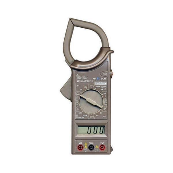Multimetru digital HOME M 266AC, 9V, ecran digital