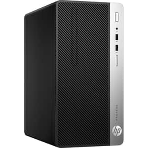Sistem Desktop HP ProDesk 400 G6, Intel Core i5-9500 pana la 4.4GHz, 8GB, SSD 256GB, Intel UHD Graphics 630, Free Dos