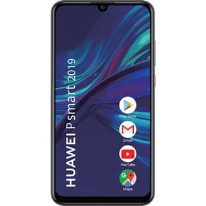 Telefon HUAWEI P Smart 2019, 64GB, 3GB RAM, Dual SIM, Midnight Black