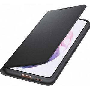 Husa Smart Led Cover pentru SAMSUNG Galaxy S21 Plus, EF-NG996PBEGEE, negru