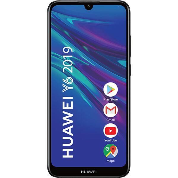 Telefon HUAWEI Y6 2019, 32GB, 2GB RAM, Dual SIM, Midnight Black