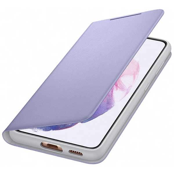 Husa Smart Led Cover pentru SAMSUNG Galaxy S21, EF-NG991PVEGEE, violet