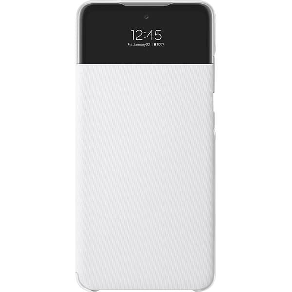 Husa S View Wallet pentru SAMSUNG Galaxy A52, EF-EA525PWEGEE, alb
