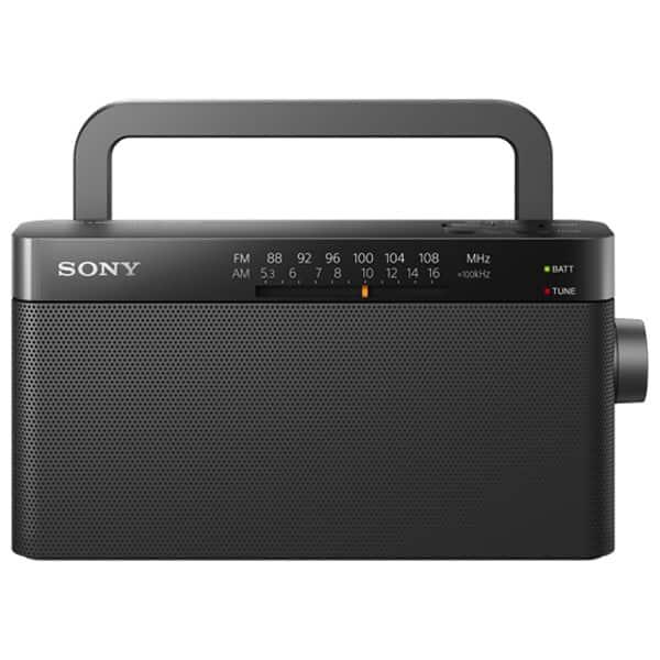 Radio portabil SONY ICF-306, FM, negru