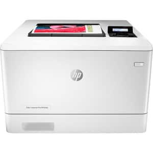 Imprimanta laser color HP LaserJet Pro M454dn, A4, USB, Retea