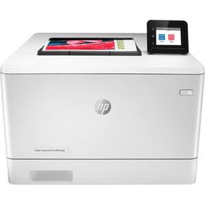 Imprimanta laser color HP LaserJet Pro M454dw, A4, USB, Retea, Wi-Fi