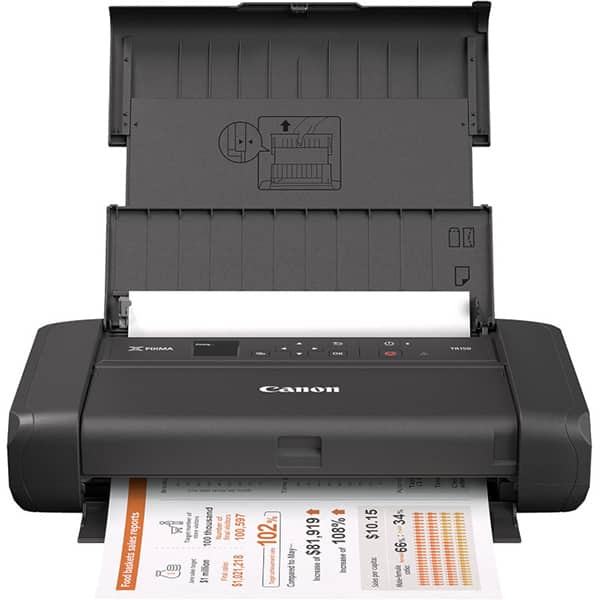 Imprimanta inkjet color portabila CANON TR150, A4, USB, Wi-Fi