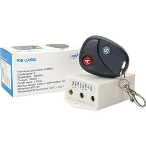Releu cu telecomanda PNI CA500, comanda 1/2 usi garaj, porti, bariere