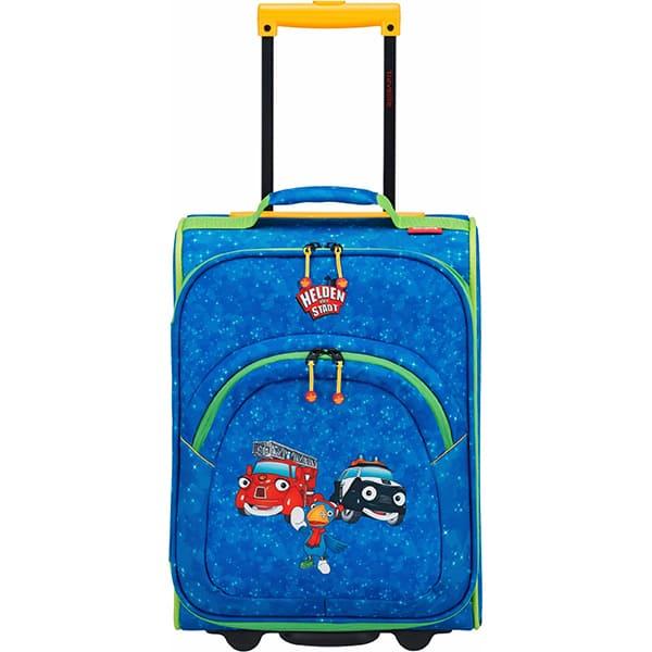 Troler copii TRAVELITE Eroii Orasului, 43 cm, albastru