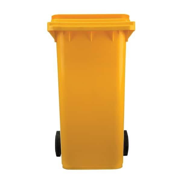 Europubela PLASTOR, colectare selectiva, 240 L, galben