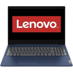 "Laptop LENOVO IdeaPad 3 17ARE05, AMD Ryzen 5 4500U pana la 4.0GHz, 17.3"" Full HD, 8GB, HDD 1TB + SSD 128GB, AMD Radeon Graphics, Free DOS, albastru"