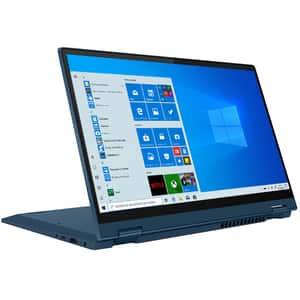 """Laptop 2 in 1 LENOVO IdeaPad Flex 5 14IIL05, Intel Core i5-1035G1 pana la 3.6GHz, 14"""" Full HD, 16GB, SSD 512GB, Intel UHD Graphics, Windows 10 Home, Light Teal"""