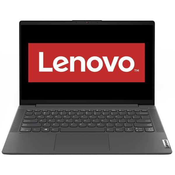 """Laptop LENOVO IdeaPad 5 14IIL05, Intel Core i5-1035G1 pana la 3.6GHz, 14"""" Full HD, 16GB, SSD 1TB, NVIDIA GeForce MX350 2GB, Free DOS, gri"""