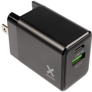 Incarcator retea XTORM Volt XA020U, Type C, USB, Power Delivery, priza EU- UK & US, negru