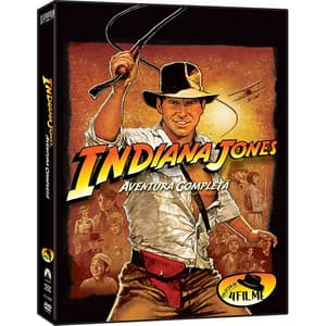 Indiana Jones: Aventura Completa DVD