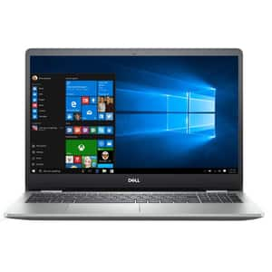 "Laptop DELL Inspiron 5593, Intel Core i5-1035G1 pana la 3.6GHz, 15.6"" Full HD, 8GB, SSD 512GB, Intel UHD Graphics, Windows 10 Pro, Platinum Silver"