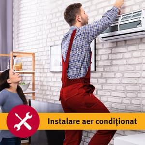 Instalare aer conditionat dublu split in 3-5 zile lucratoare
