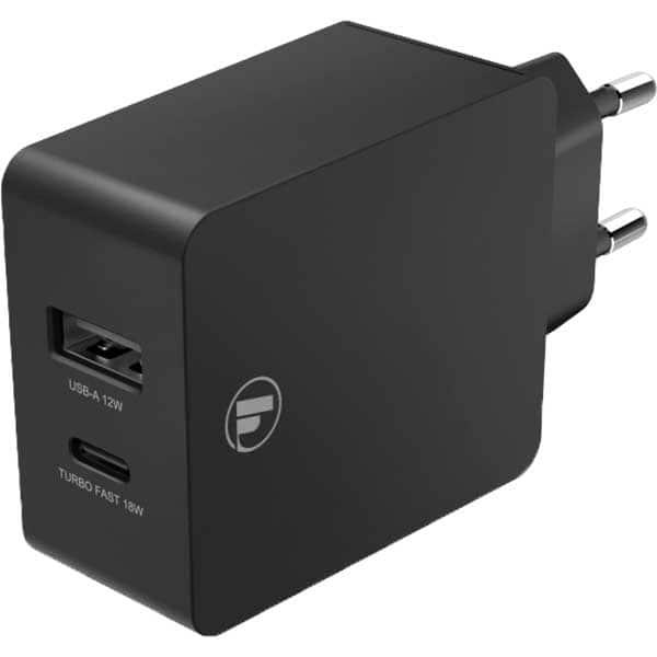 Incarcator retea HAMA 210520, 1xUSB, 1x Type C, Power Delivery  (PD), Quick Charge 3.0, negru