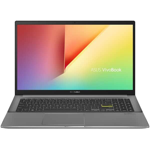"""Laptop ASUS VivoBook K533FL-EJ147, Intel Core i7-10510U pana la 4.9GHz, 15.6"""" Full HD, 8GB, SSD 512GB, NVIDIA GeForce MX250 2GB, Free DOS, negru"""