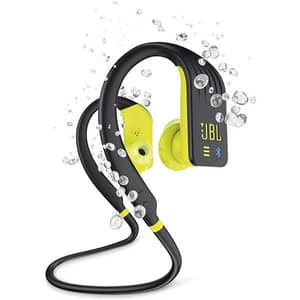 Casti JBL Endurance DIVE, Bluetooth, In-ear, Microfon, galben
