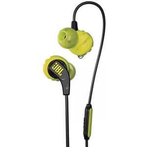 Casti JBL Endurance Run, Cu fir, In-ear, Microfon, galben
