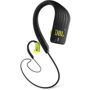 Casti JBL Endurance Sprint, Bluetooth, In-ear, Microfon, galben