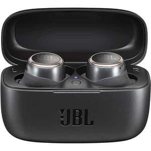 Casti JBL LIVE 300TWS, True wireless Bluetooth, In-ear, Microfon, negru