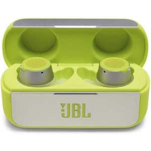 Casti JBL Reflect Flow, True wireless Bluetooth, In-ear, Microfon, verde fosforescent
