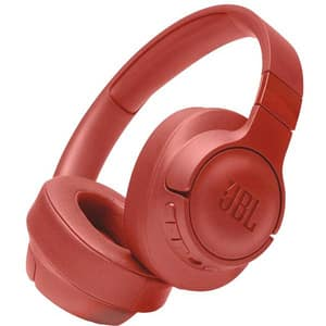 Casti JBL Tune 750BTNC, Bluetooth, Over-ear, Microfon, Noise Cancelling, rosu