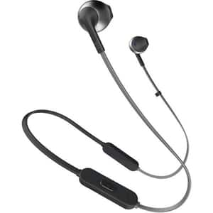 Casti JBL TUNE 205BT, Bluetooth, In-Ear, Microfon, negru