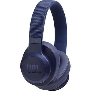 Casti JBL Live 500BT, Bluetooth, Over-ear, Microfon, albastru