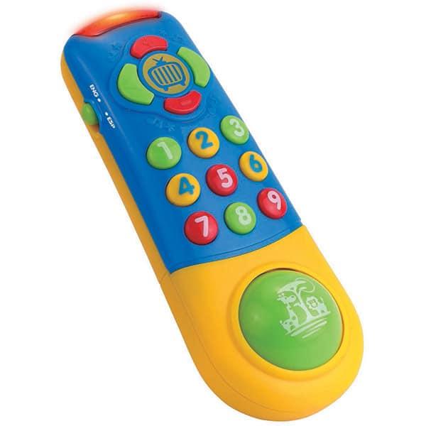 Jucarie interactiva LITTLE LEARNER Prima mea telecomanda 4239T, 12 luni+, multicolor
