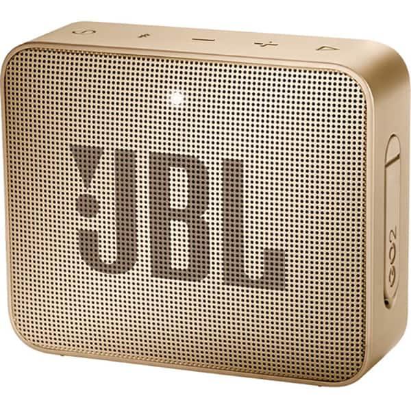 Boxa portabila JBL Go 2, Bluetooth, Waterproof, champange